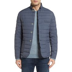 Men's Lanai Collection Voyager Jacket ($425) ❤ liked on Polyvore featuring men's fashion, men's clothing, men's outerwear, men's jackets, chrome, mens puffer jacket, mens puffy jacket, mens blazers and mens quilted jacket