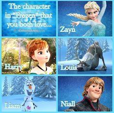 Favorite frozen character.. Love Anna!