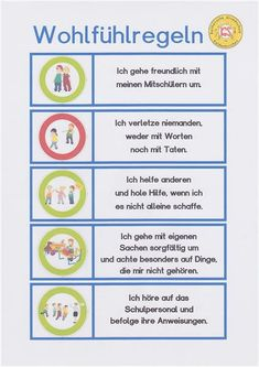 Klassenregeln grundschule bildkarten  Step-by-step directions for creating your own name puzzles | Pre-K ...