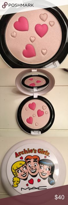 Mac face powder. Veronica's blush from Archie's Girls collection. Brand new condition. Never used. Pearlmatte face powder. MAC Cosmetics Makeup Face Powder