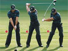 Improving golf swing