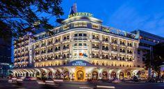 泊ってみたいホテル・HOTEL|ベトナム>ホーチミン>サイゴン川を見渡せるコロニアル様式の歴史的建造物>ホテル マジェスティック サイゴン(Hotel Majestic Saigon)