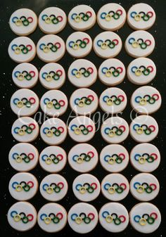 Olympic Games Cookies for DFS Galleria Auckland's Olympic themed Event, August 2016