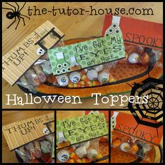 The Tutor House: Halloween Goodies