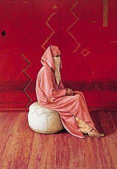 Tenue d'une femme  Marocaine traditionnelle.