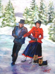 """Skating in the Park"" by Claiborne Hemphill-Trinklein"