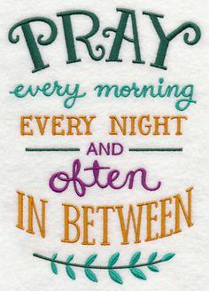 Pray Every Morning