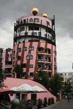 Die Grüne Zitadelle (Hundertwasser) // Magdeburg, Sachsen-Anhalt, Germany