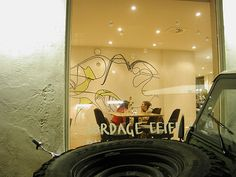 Cafe G-feldt  Design made in collaboration with Jacob Monefeldt