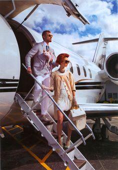 ♂ Luxury travel private jet