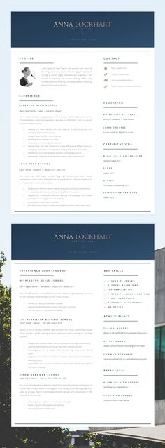 Modern and Professional Resume and Free Cover Letter Word - what is a cover page for a resume