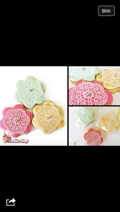 #cookie #kurabiye #dantel #lace