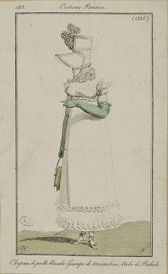 Costume Parisienne, 1813