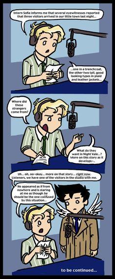 Welcome to Super Night Vale III by blackbirdrose.deviantart.com on @deviantART