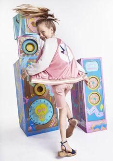 El urban chic de Stella McCartney Kids primavera-verano 2016 - DecoPeques