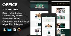 OFFICE - Multipurpose Responsive Email Template   Stamp Ready Builder by evethemes OFFICE ¨C Multipurpose Responsive Email Template   Stamp Ready Builder OFFICE is a multipurpose responsive email template designed for Corporate, Office, Business and general purposes. Access to Stampready Template Builder Features