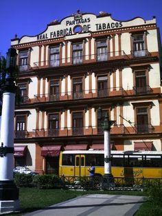 Real fabrica de tabacos, La Habana