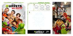 Cómo dibujar a los Muppets
