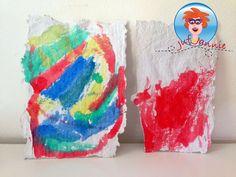 Papier maken van oud papier (recyclen) – knutselen met kinderen