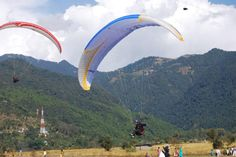 place of paragliding