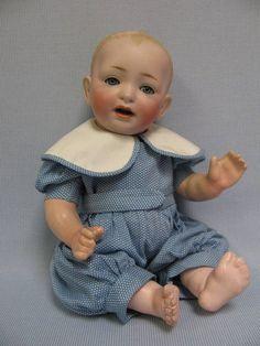 "13"" Early Kestner 1910 Doll JDK Character Baby"