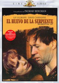 El Huevo de la serpiente (1977) Alemaña. Dir.: Ingmar Bergman. Drama. Anos 20 – DVD CINE 1776