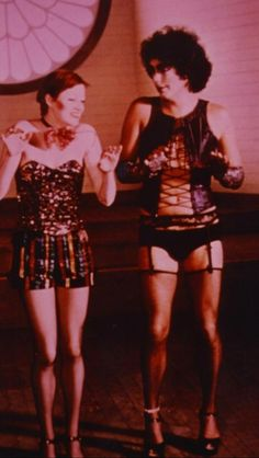 Little Nell and Tim Curry