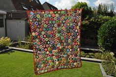crochet flower blanket haken bloemenplaid