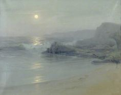 Moonlight on the Sea by Lionel Walden