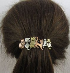 The Ultimate Holiday Gift Guide For Cat Ladies for the love of cats this cute barette hair clip is a really nice way to show your allegiance to the feline side of the force cat lovers