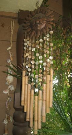 Wind chime. I always like them by windows and doors that are always open.