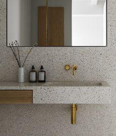 The Stable House - via Coco Lapine Design blog Bathroom Toilets, Laundry In Bathroom, Washroom, Master Bathroom, Tub Shower Combo, Shower Tub, Big Bathrooms, Beautiful Bathrooms, Bathroom Inspo