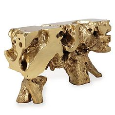 Tables Sequoia Console Table Z Gallerie Gold Stump