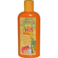 Logona Natural Body Care Baby & Kids Products, Kids Shampoo & Shower Gel, 6.8 oz