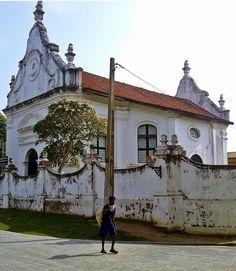 Church at Galle Fort, Sri Lanka #VisitSriLanka #lka
