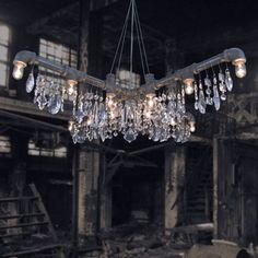 Tribeca X-Chandelier | Michael McHale Designs at Lightology