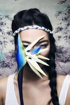 Huaihai Lu Headband  #headband #blue