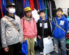 【新宿2号店】 2013年3月31日 N中学校の皆さんです!!しかし最近の中学生は着こなしも上手いですね!
