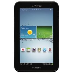Keep yourself entertained at home and on the road with the Samsung Galaxy Tab 2 (7.0) LTE. Weighing just 12 ounces and sporting a vibrant 7-inch touchscreen