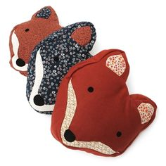 Sass & Belle Paddy The Fox Cushion with Inner