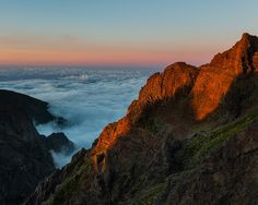 Pico do Arieiro, Madeira. 9 June 2014.