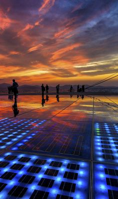 Greetings to the Sun in Zadar, #CROATIA.
