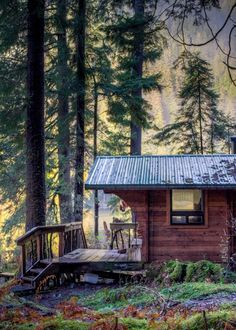 Beautiful and Romantic Salmon Lake Cabin Sitka Alaska Available to Rent | Tiny Homes