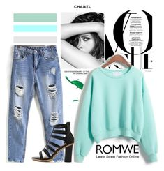 """Romwe"" by fashion-addict35 ❤ liked on Polyvore featuring Chanel"