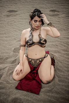 Slave Leia Cosplay by caroangulito Check out http://hotcosplaychicks.tumblr.com for more awesome cosplay