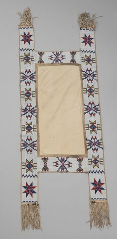 Buffalo Bill Center of the West Native American Horses, Native American Regalia, Native American Beading, Saddle Blanket, Horse Gear, Online Collections, Horse Stuff, Saddles, Leather Pouch