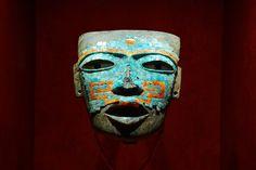 トルコ石のマスク