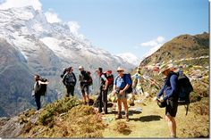 Nepal What more could be more wonderful than making a travel to the country of the Mount Everest, the highest mountain in the world. A small landlocked country, full of natural beauties has a lot of snow capped mountains every mountain climbers and trekkers would want to step their foot on. @Getupandgotours  Via: http://www.getupandgo.in/trekking-in-india/