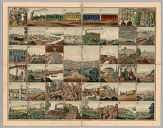 Voyage from New York to San Francisco upon the Union Pacific Railroad, 1870…