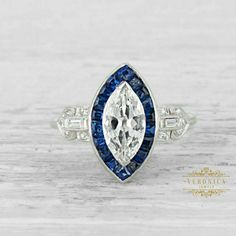 Deco Engagement Ring, Antique Engagement Rings, Engagement Ring Settings, Diamond Engagement Rings, Marquise Cut Diamond Ring, Art Deco Diamond Rings, Art Deco Ring, Thing 1, Vintage Art